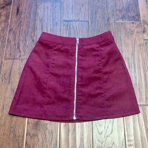 Purple mini skirt (NWT)